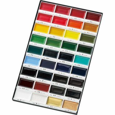 Kuretake Gansai Tambi Water Colors,E36 Color Set